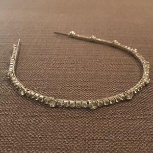 JCrew faux diamond/crystal Headband
